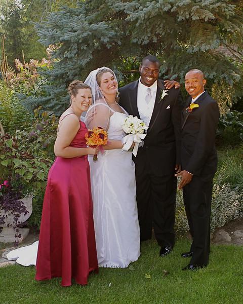 BRIDGET AND DJOLY WEDDING