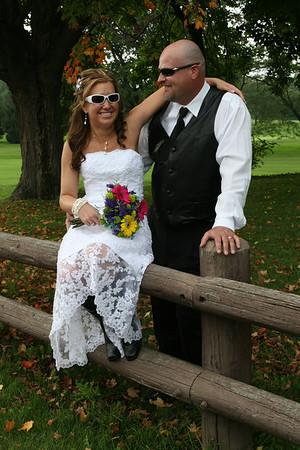 KRISTIN AND DOUG'S WEDDING DAY