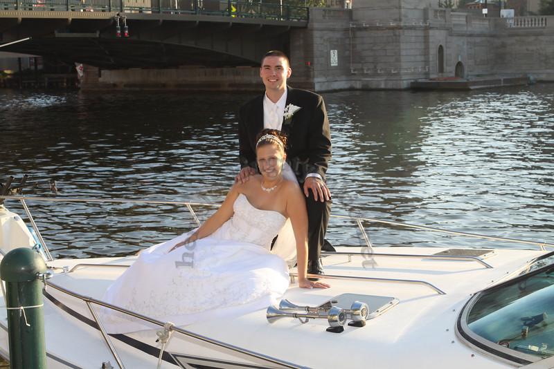 MEGAN AND DAVID'S WEDDING DAY